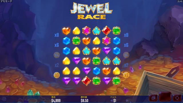 ベラジョンカジノのJewel Raceについて