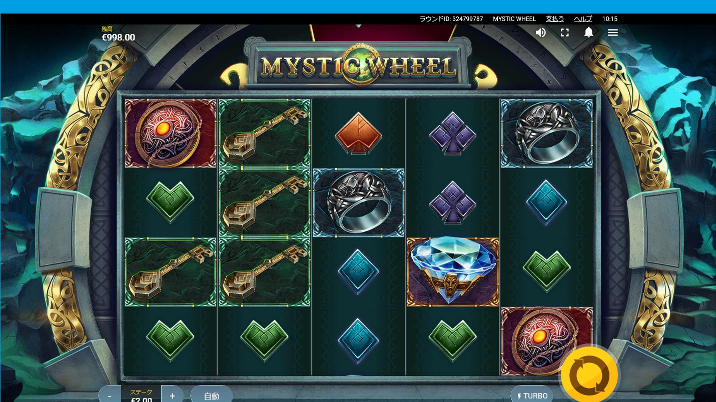 ベラジョンカジノ MYSTIC WHEEL の紹介