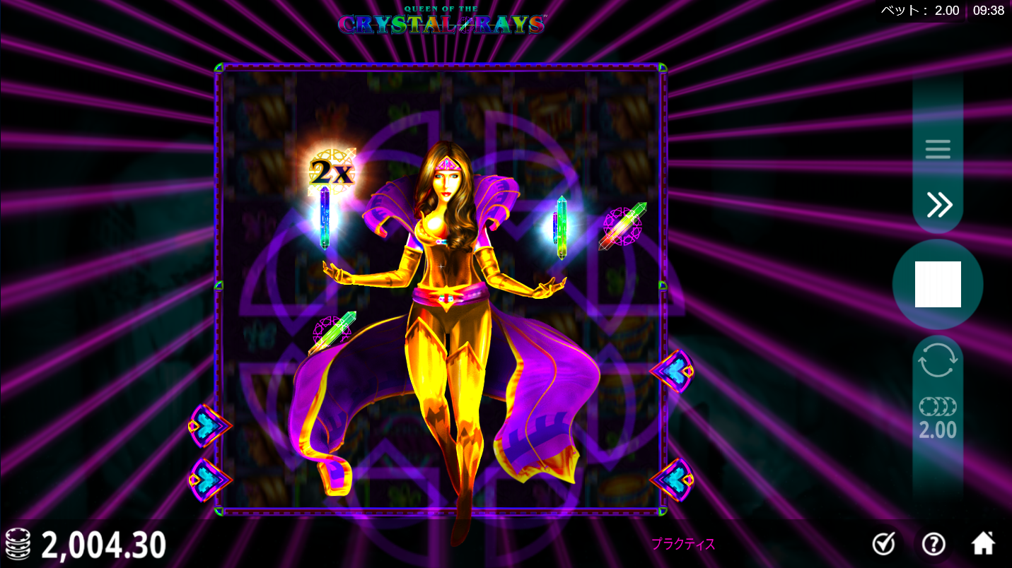 Queen of the crystal Ray 遊び方