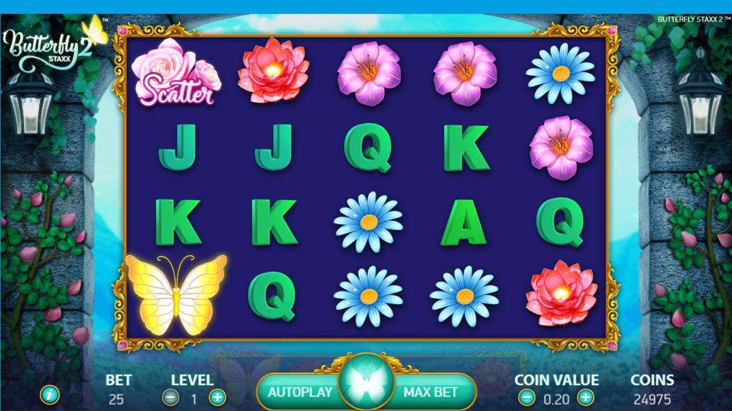 ベラジョンカジノ Butterfly Staxx 2を紹介