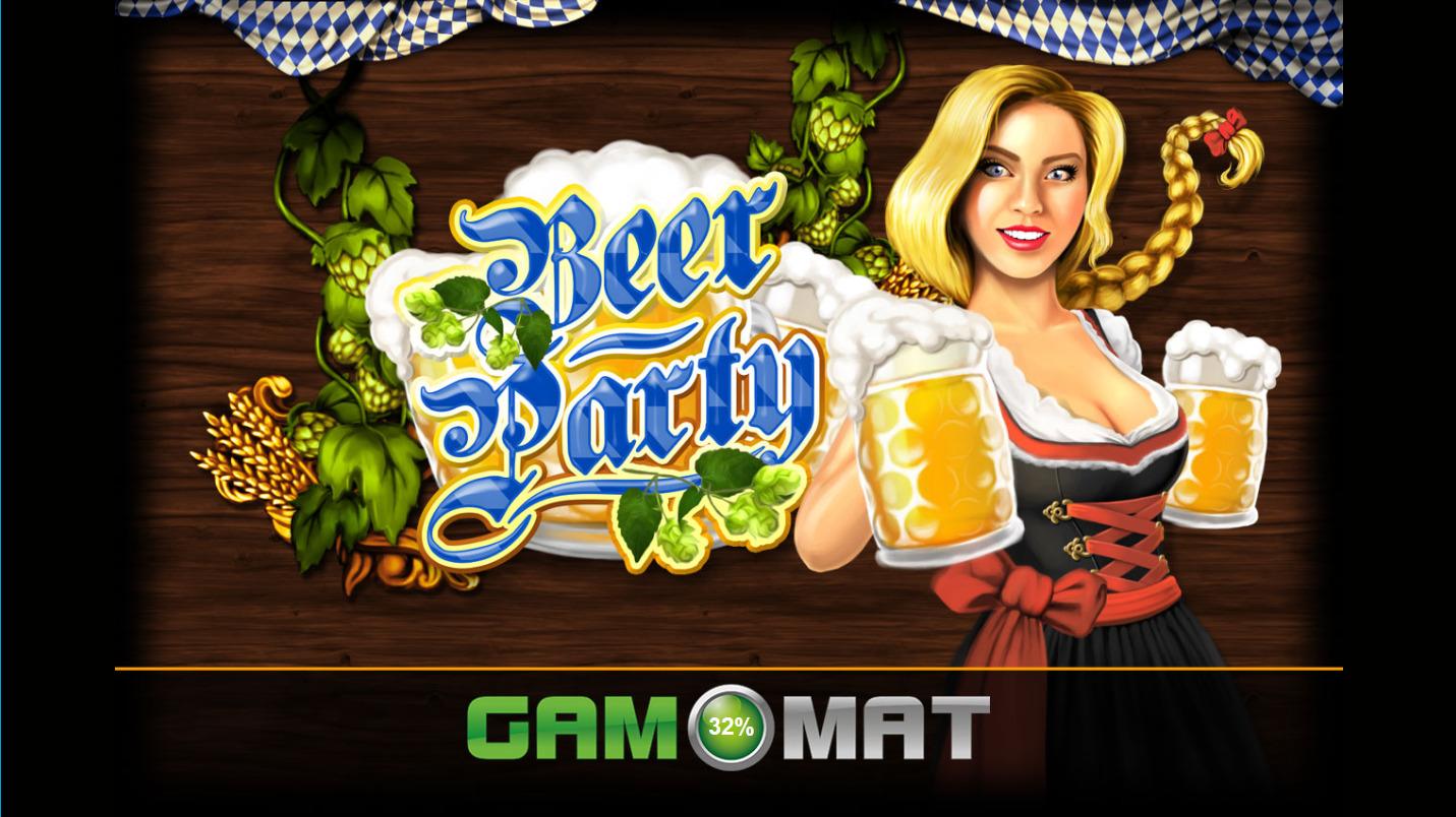 ベラジョンカジノ Beer Partyスタート画面