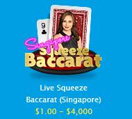 ベラジョンカジノ ライブバカラ シンガポール