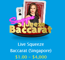 Live Squeeze Baccarat (Singapore)